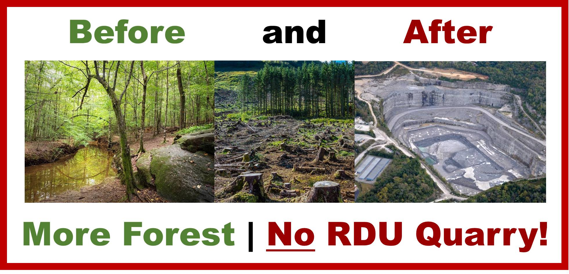 The Umstead Coalition - Stop RDU Quarry