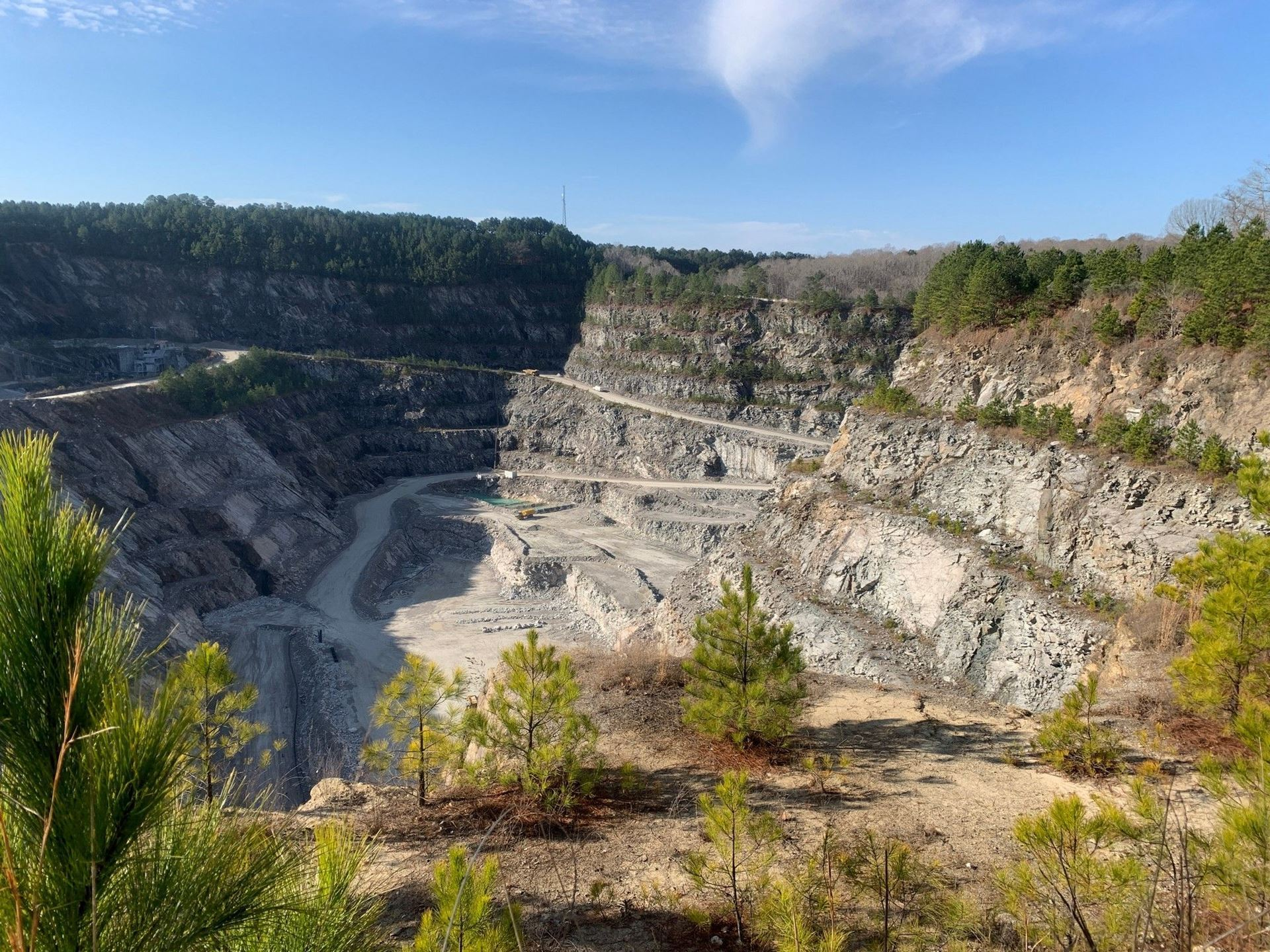 Wake Stone Quarry, Cary, NC